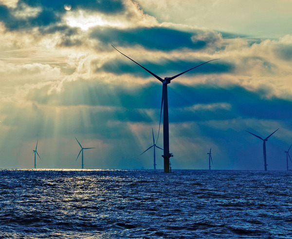 The London Array, off Britain's east coast, currently the world's biggest offshore wind farm.  Jointly owned by E-ON, DONG Energy, UAE-based Masdar and Canadian investment fund La Caisse.